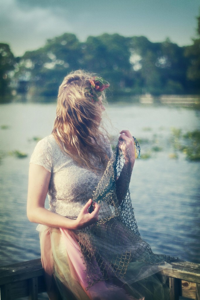 girl with net