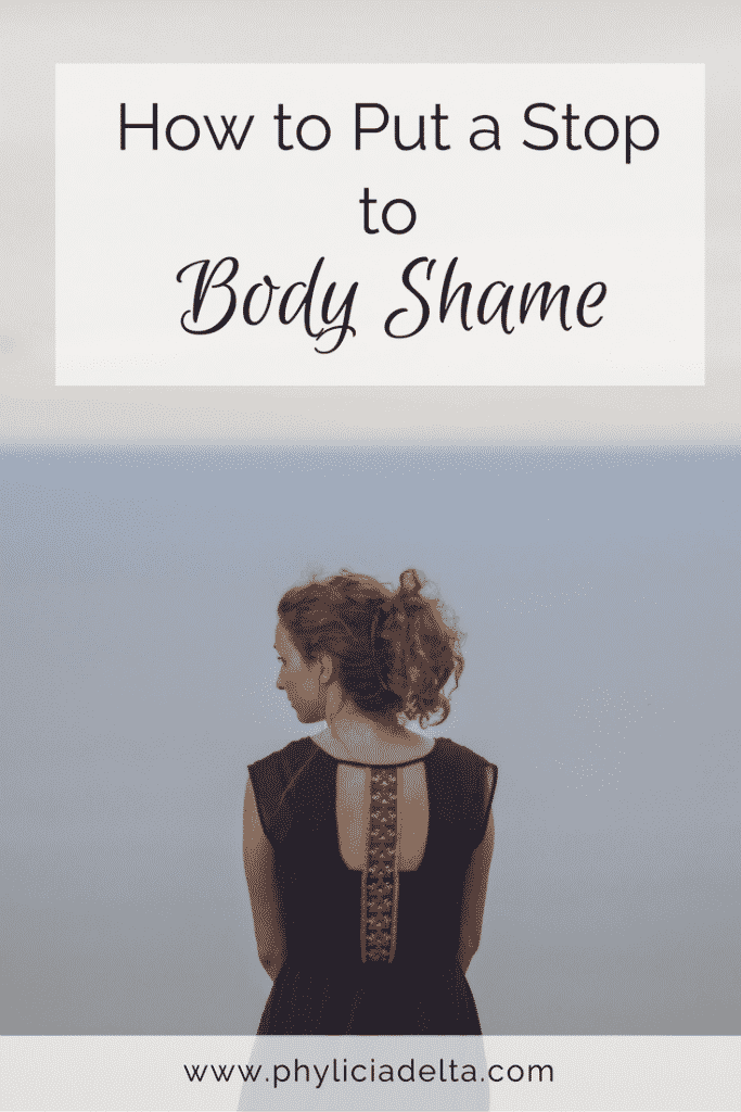 Body shame is not our destiny; but to conquer it, we have to stop thinking about our bodies and embrace our eternal purpose.