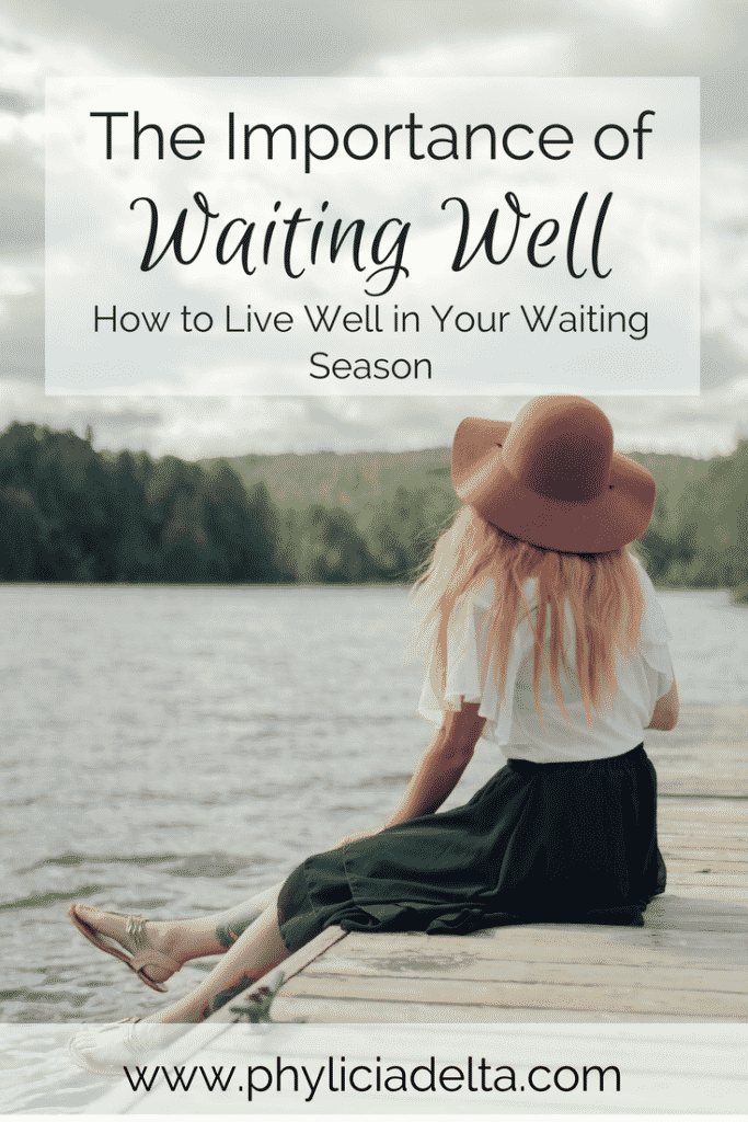 Waiting isn't a necessary evil; it's part of God's long-term purpose.