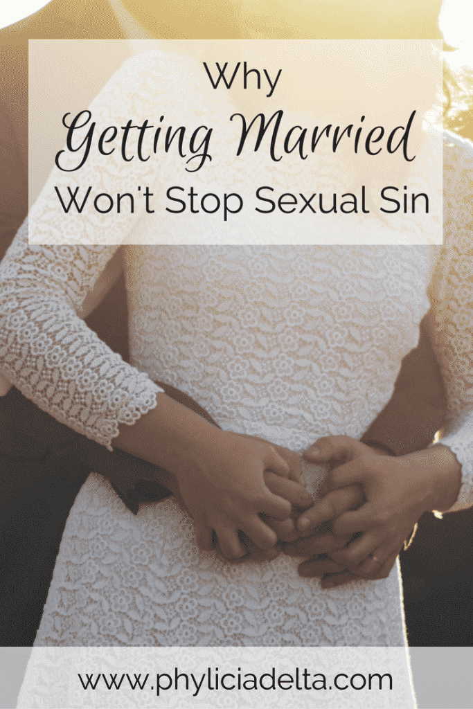 "Impure hearts result in impure bodies, and no amount of marital ""holy sex"" makes up for a lifestyle of sin."