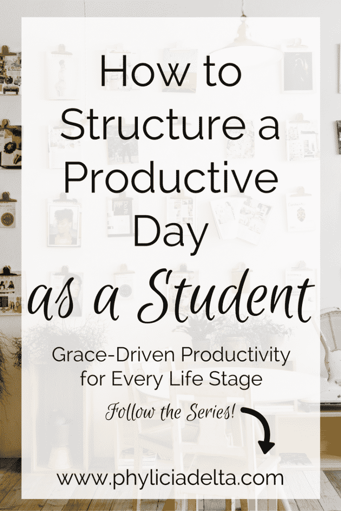 As a college guidance/admissions counselor - my career for the last six years - I am very familiar with the productivity struggles of students. For most of my career, I was also a student - I earned my B.S. degree while working full time. So if you're a student with scheduling struggles, I got your back.
