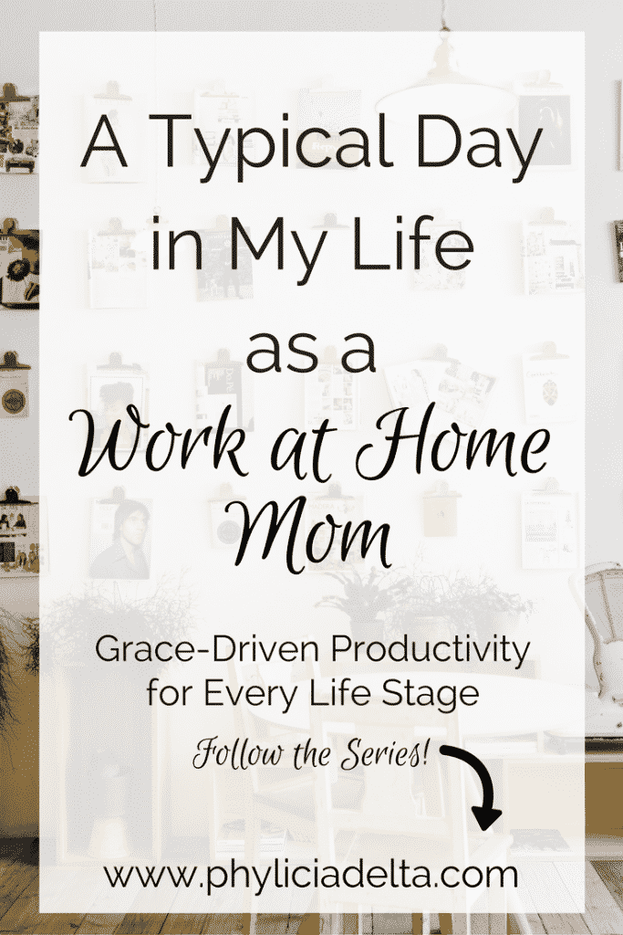 It's hard to describe a day in my life as a work-from-home mom because no two days are the same! But that's why I'm so excited to share what a day looks like for someone juggling work, marriage, motherhood, friendship, and home management. My life is the busiest it's ever been, and I'm less stressed than I've ever been.