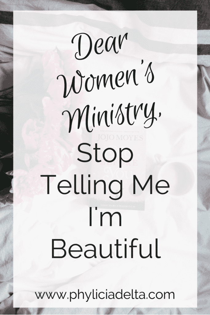 here's the amazing thing about a gospel-centric women's ministry: when all women do is worship Jesus, the insecurities, fears, and anxieties pale in comparison to His everlasting glory.