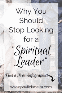 Stop Looking for a Spiritual Leader