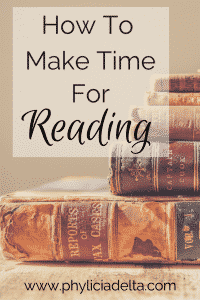 How to Make Time for Reading