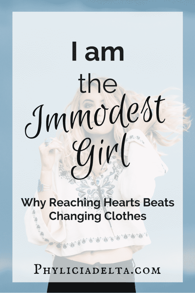 I am the Immodest Girl