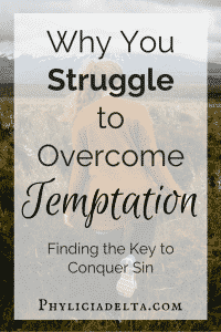 This is Why You Can't Overcome Temptation