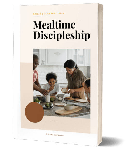 Your Free Guide to Mealtime Discipleship!