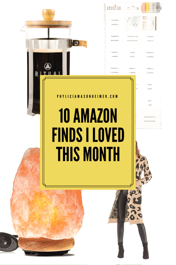 Ten Amazon Finds I Loved