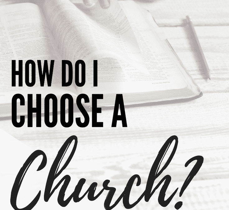 The Beginner Believer: How to Choose a Church