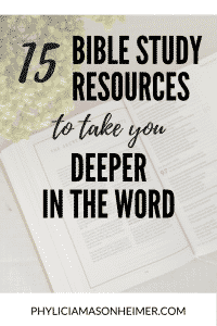 Bible study resources for Christian women