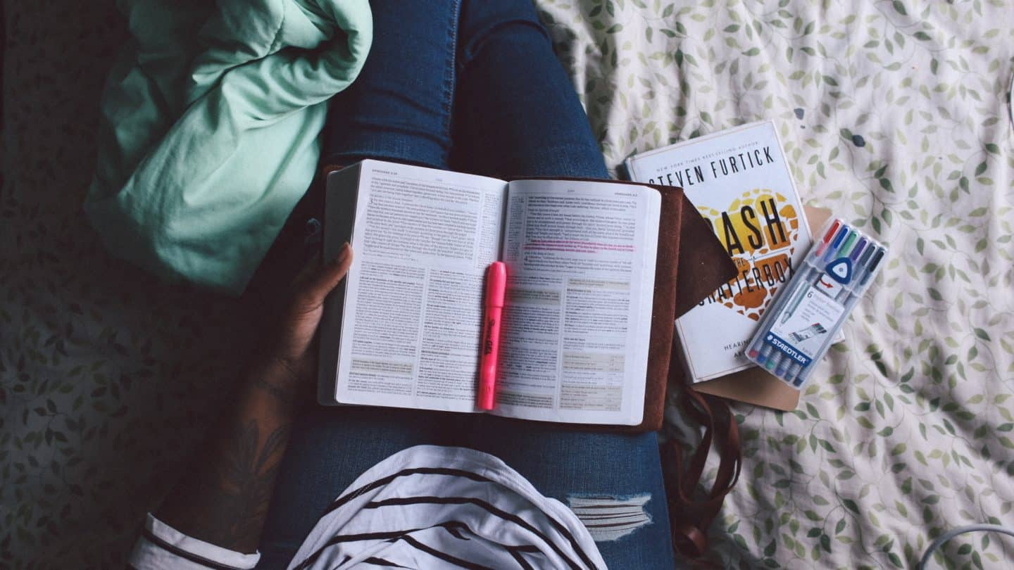 How to Avoid the Bible Journaling Mentality